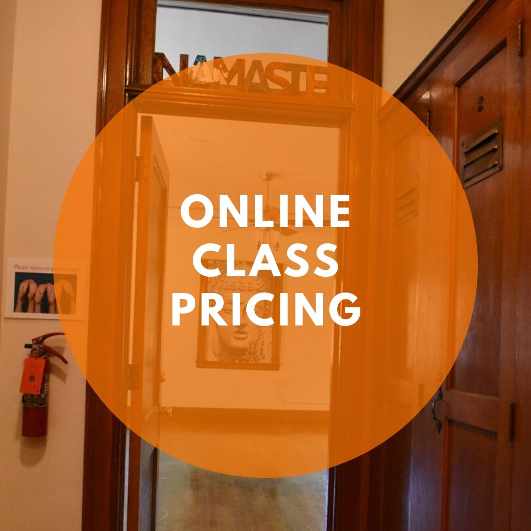New Pricing for Online Classes