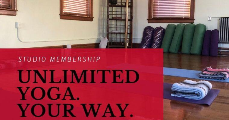 Studio Membership & Unlimited Online Pass