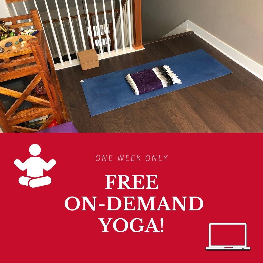 Staycation Special – Free On-Demand Yoga