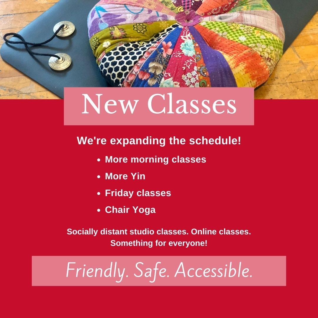 New Teachers & New Classes!