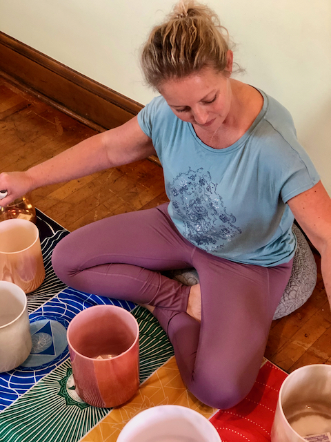 Studio Spots Filling Up for Sound Bath with Becky Hopp