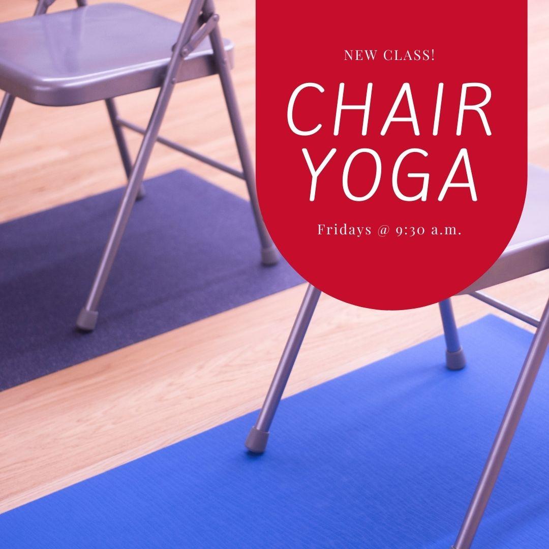 Chair Yoga Begins This Week!