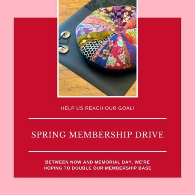 Can you help us double our membership?