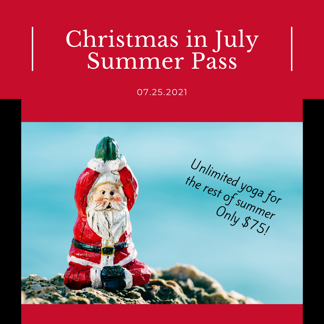 Christmas in July Summer Pass
