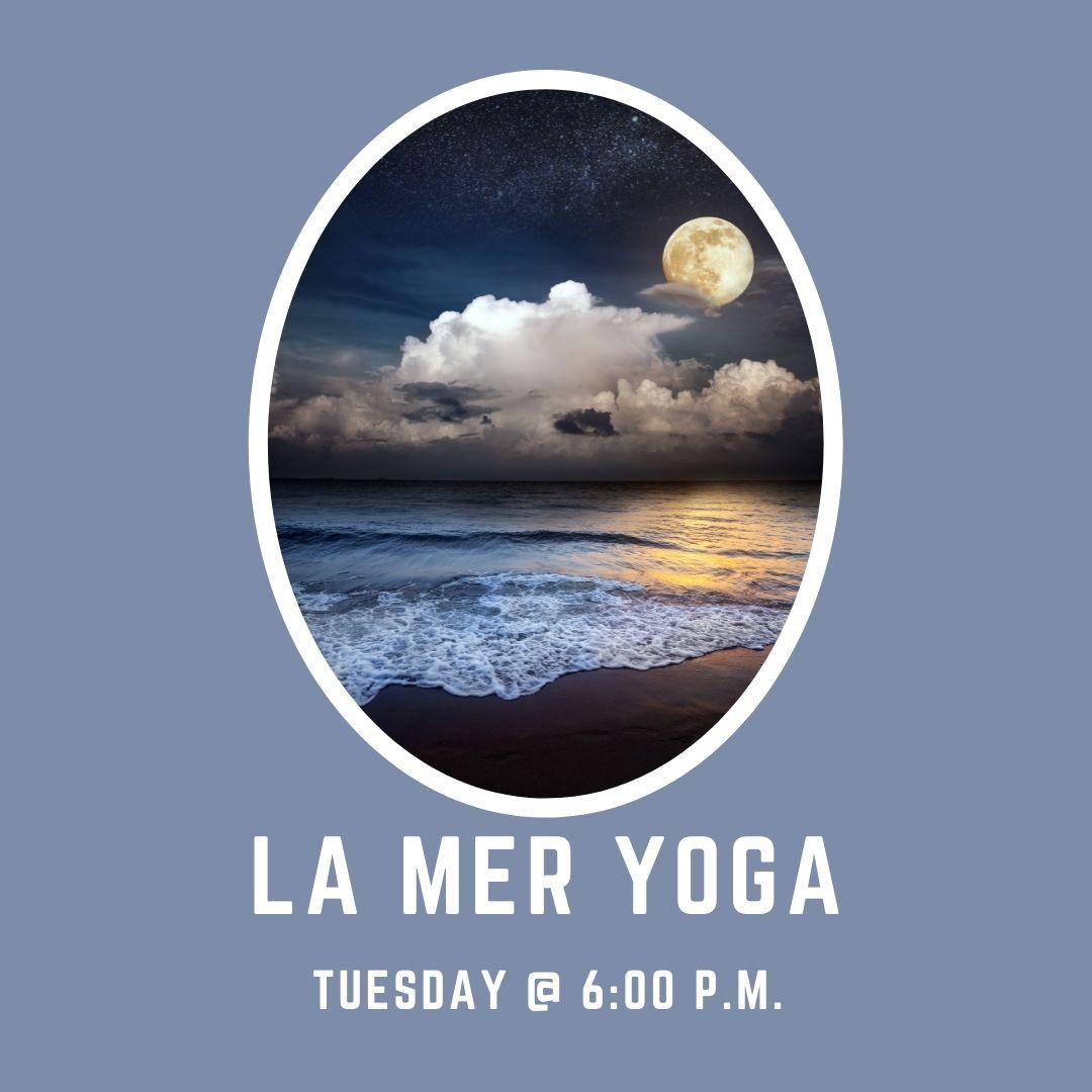 La Mer Yoga returns on Tuesdays